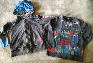 Sudadera y camiseta Tuc Tuc Talla 5