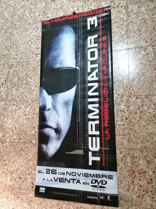 Cartel de Tela Terminator 3