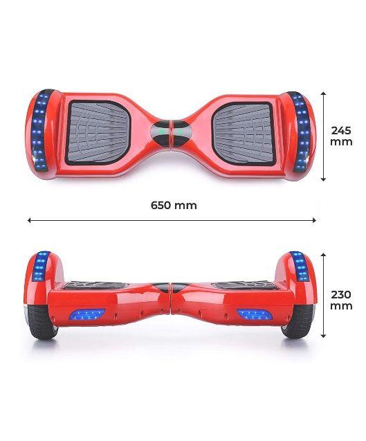 Hoverboard ACBK rojo