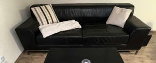 por mudanza sofa Kivic ikea piel