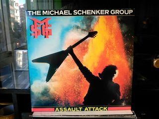 THE MICHAEL SCHENKER GROUP - ASSAULT ATTACK VINILO