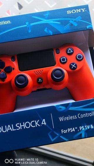 Mando PS4 Sunset Naranja NUEVO