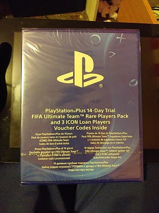 PlayStation Plus PS4 + Pack FIFA Ultimate Team