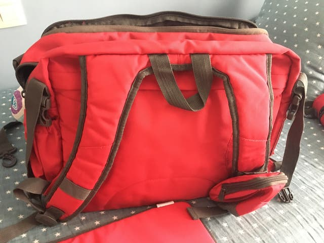 Bolsa carrito bebé roja (mismo color rojo bugaboo)