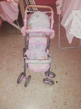 carro niña muñeca