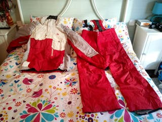 Cazadora y pantalon Ski Helly Hansen