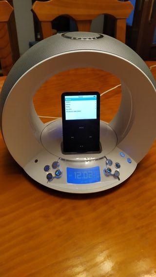 Vendo altavoz para Ipod con radio JBL ON TIME