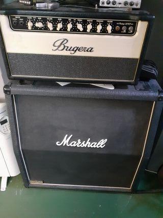 Amplificador Bugera + Pantalla jcm800