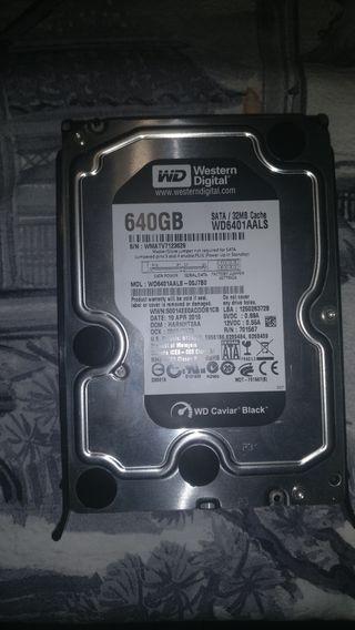 Disco duro WD 640GB