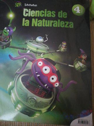 Libro ciencias naturales 4 primaria