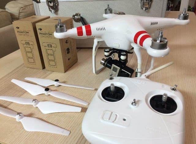 Drone dji PHANTOM 2 + Go PRO 3+ black edition