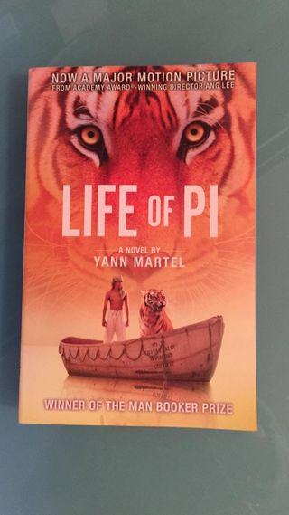 Libro en inglés Life of Pi