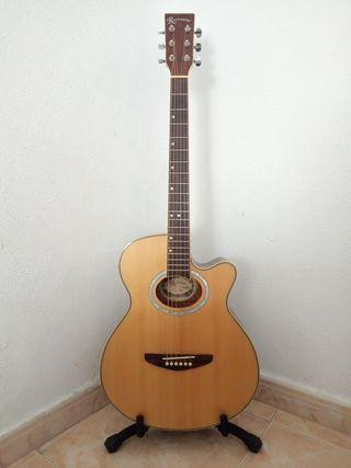 guitarra con previo Fishman de gama alta