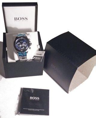 Reloj Hugo Boss, nuevo, con etiqueta, con caja