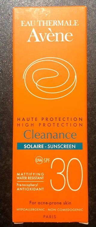 Avene Sunscreen
