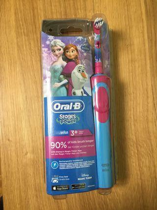 Cepillo eléctrico infantil Oral-B Frozzen