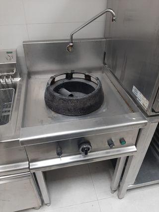 Módulo cocina para wok 1 fuego