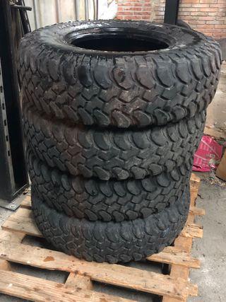 Neumáticos mud terrain 255/85/16