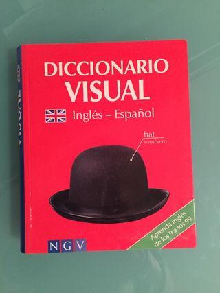 libro diccionario visual de inglés