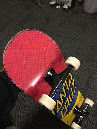 Skateboard Santa Cruz
