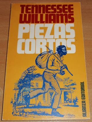 Libro Piezas cortas (Tennessee Williams)