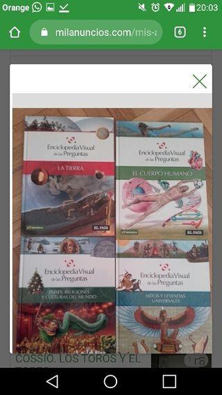 Enciclopedia visual de las preguntas.