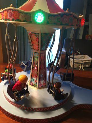 Playmobil - Carrusel con columpios voladores
