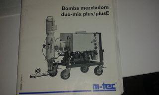 MAQUINA DE PROYECTAR MORTEROS M-TEC DUO MIX