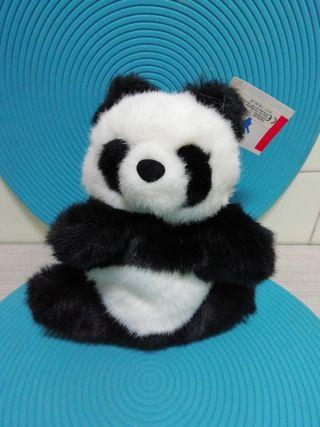 Marioneta de oso panda
