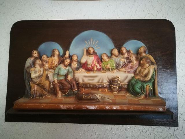 Cuadro madera Última cena
