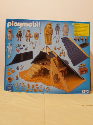 Pirámide del Faraón Playmobil,