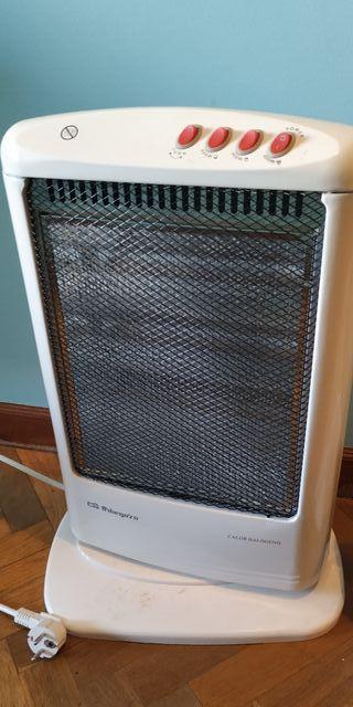 Dos calefactores