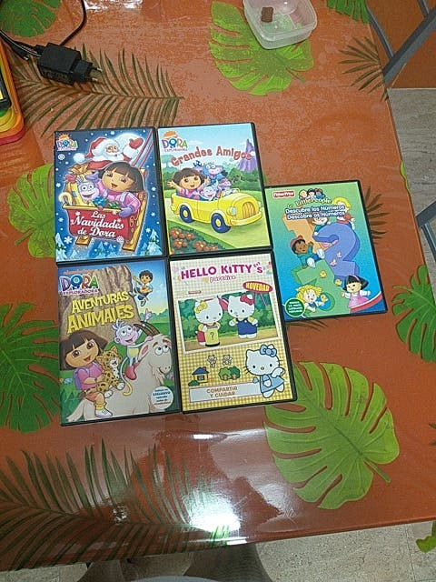 DVDs infantiles