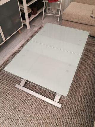 Mesa para salón elevable y extensible
