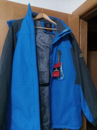 chaquetón hombre para el invierno