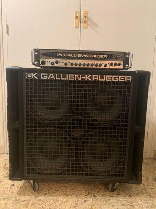 Amplificador Bajo Gallien-Krueger