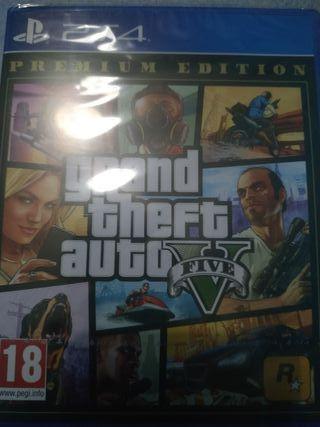 GTA V PS4 nuevo