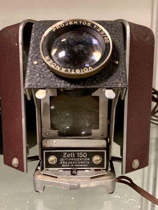 Proyector antiguo Zett 150
