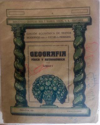 Geografía física y astronómica: libro I (1936)
