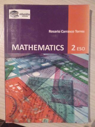 Libro Matemáticas 2° ESO (bilingüe)