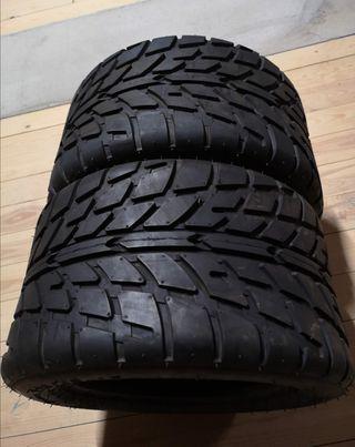 2 neumáticos quad asfalto nuevos