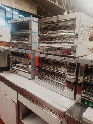 Tostador de pan industrial