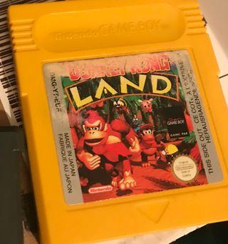 Videojuego Donkey Kong Land para Game Boy