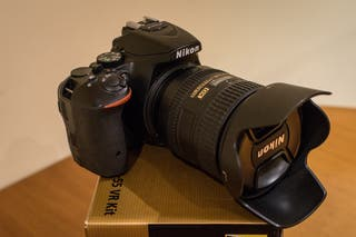 Cuerpo Nikon D5500 (opción 16-85mm y 17-50mm)