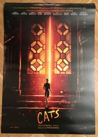 Poster cine Cats.