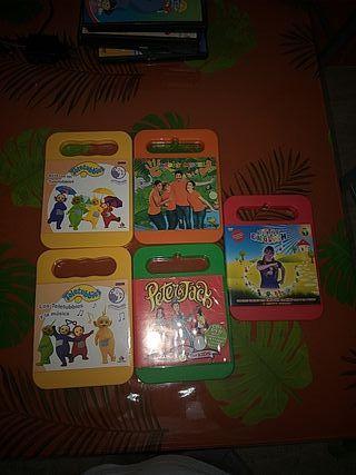 colección DVD infantiles