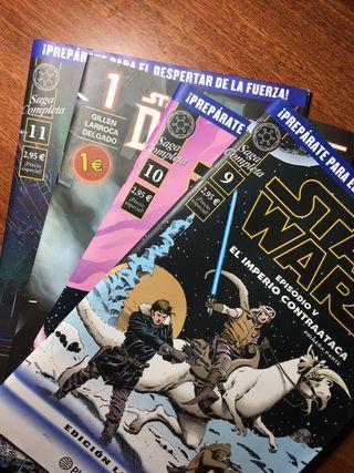 Comics Limitados de Star Wars