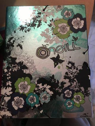 Carpeta marca O'neill