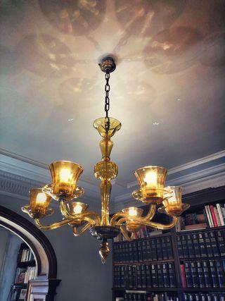 Lámpara de techo antigua años 50
