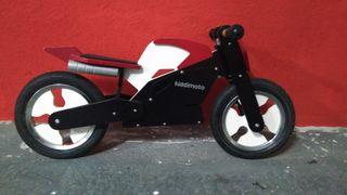 Correpasillos moto